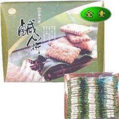 澎湖素食鹹餅<大盒>(萬泰)