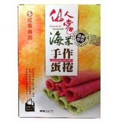 仙人掌海菜手作蛋捲(典醬家)