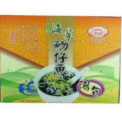 海菜魩仔魚湯包(漁翁島)