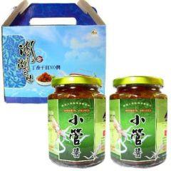 小管醬禮盒<2瓶>(澎湖之味)