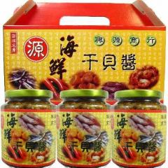 海鮮干貝醬禮盒<3瓶裝>(興源)