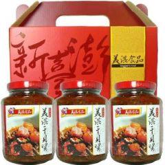 美淇干貝醬禮盒<3瓶>(新臺澎)