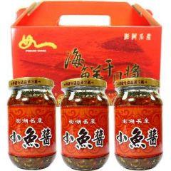 小魚醬禮盒<3瓶>(如意坊)